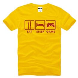 $enCountryForm.capitalKeyWord Canada - Eat Sleep Game XBOX Custom Gamer Funny Printed Mens Men T Shirt T-shirt 2018 New Short Sleeve O Neck Casual Tshirt Tee