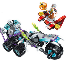 Electric Blocks Canada - 210Pcs Building Blocks Motorcycle Model Set Figures Educational Compatible Bricks Gift Toys For Children Boy Kids