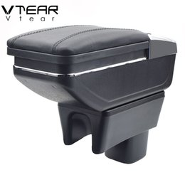 Swift acceSSorieS online shopping - For SUZUKI Swift armrest box central Store content box cup holder ashtray products car styling products accessory