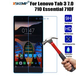 $enCountryForm.capitalKeyWord Australia - XSKEMP For Lenovo Tab 3 7.0 710 Essential 710F Shockproof No Fingerprint Tablet Tempered Glass Screen Protector Protective Film
