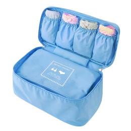 Bra Storage Organizers Canada - Women's Bra Travel Storage Bags Pantie Organizer Weekend Overnight Underwear Accessories Items Gear Stuff Supplies Products