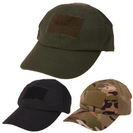 3f5884dfaba Adjustable Camouflage Unisex Tactical Hat Army Hiking Male Hats Summer  Camping Fishing Bionic Baseball Cadet Cap