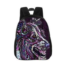 $enCountryForm.capitalKeyWord UK - Custom Backpack Lady Men's Travel Bag Animal Photo Print 3D Boy Girl Bag Gift Backpack Cute Dog Pattern Cartoon Casual