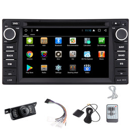2din gps radio UK - 6.2'' Android 7.1 double 2din FM AM radio headunit stereo Car DVD player for TOYOTA Corolla EX GPS Navigation Octa core