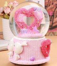 Creative Rotary Crystal Ball Music Box Girls Birthday Gift Girlfriend Bestie Romantic Gifts NZ7950