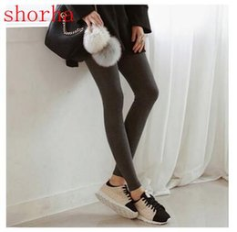 Leggings Pregnant Australia - Fashion Maternity Leggings Pregnant Solid Cotton Pants Clothes Women High Waist Adjustable Belt Modal Pregnancy Trousers autumn