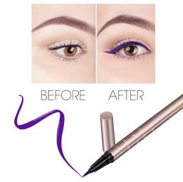 $enCountryForm.capitalKeyWord Canada - O.TWO.O Colorful Purple Liquid Eyeliner Eye Make Up Super Waterproof Long Lasting Eye Liner Wear Party Makeup