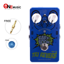 Chinese  Biyang RV-10 Tri Reverb Effects Pedal Six-Model Reverb Guitar Effects Pedal Baby Boom manufacturers