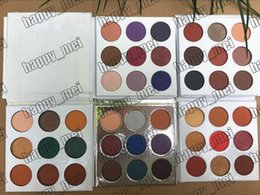 Different eyeshaDow online shopping - Factory Direct DHL New Makeup Eyes Pressed Powder Eyeshadow Palette Colors Eyeshadow Different Colors