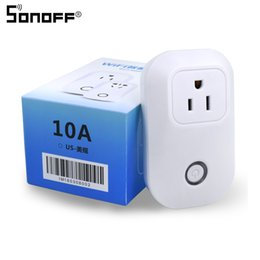 $enCountryForm.capitalKeyWord Canada - Sonoff S20 Smart Home Remote Control Automation Relay Module US Power Supply Plug Wifi Socket Outlet Timing Switch 10A 90-250V