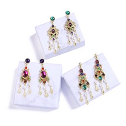 Chandelier crystals sale australia new featured chandelier hot sale fashion jewelry accessories 2018 new style gold color plating alloy multi color stones women long dangle earrings drop earring cute aloadofball Image collections