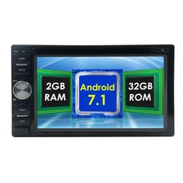 4g mp4 player touch screen online shopping - 7 Car dvd Player double Din car PC Octa core Car radio Stereo Android GPS Navigation Head Unit wifi G FM AM