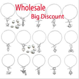 Discount oyster bracelets - More Than 50 styles Pearl Cage Bracelet Jewelry Locket Pendant Bracelet Findings Cage Essential Oil Diffuser Locket For