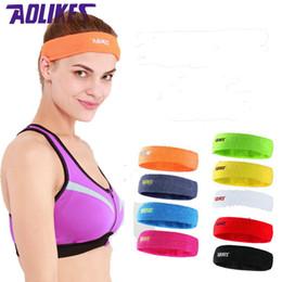 $enCountryForm.capitalKeyWord Canada - AOLIKES High Quality Cotton Sweat Headband For Men Sweatband women Yoga Hair Bands Head Sweat Bands Sports Safety