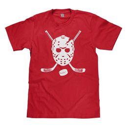 Men Mask Stick Australia - Mixtbrand Big Boys' Goalie Mask and Hockey Sticks Youth T-Shirt