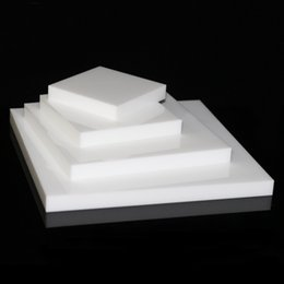 $enCountryForm.capitalKeyWord NZ - Exquisite Jewelry Display Riser Solid Block Stand White Acrylic Boutique Shop Showcase Useful Jewellery Exhibiting Presenter Free Shipping