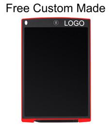 Discount drawing tablets - 50pcs 12inch Freely Custom Made LOGO LCD Writing Tablet Digital Digital Portable Drawing Tablet Handwriting Pads Electro