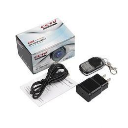 Dvr Adaptor NZ - Remote control AC adaptor camera HD 1080P EU US Plug Mini camera Wall Charger MINI DVR motion detection video recorder home Security camera