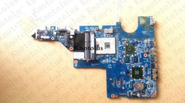 Discount hp g42 laptop - 631596-001 for HP G42 G42T laptop motherboard HM55 HD 6370M Free Shipping 100% test ok