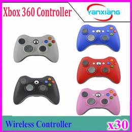 $enCountryForm.capitalKeyWord NZ - 30pcs Xbox Wireless Controller Arrival Game Pad Joypad Controller for Microsoft Xbox 360 Wireless Gamepad Game YX-360-01 YX-360-01