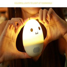 Discount tf speaker hot - Hot sale Novelty DIY ExpressionTumbler Atmosphere Light Audio Bluetooth Audio Creative Colorful Pat light Portable Wirel