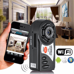 night vision infrared NZ - Q7 Mini Wifi DVR Wireless IP Camcorder Video Recorder Camera Infrared Night Vision Camera Motion Detection Built-in Microphone