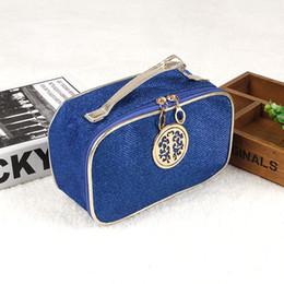 $enCountryForm.capitalKeyWord Canada - Paillette Zipper Makeup Bag Fashion Cosmetics Holder Bright Japanned Leather Lipstick Clutch Bag Travel Toiletry Storage Bags