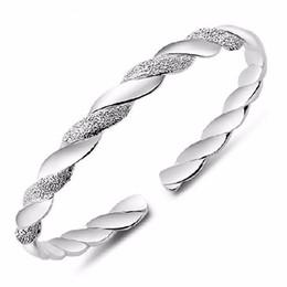 Discount ladies fashion bracelet design - whole saleJEXXI 2016 Silver Bracelt For Women Pretty Lady Bangle Lover Fashion Brand Design Bracelets Bangles Jewelry Fr