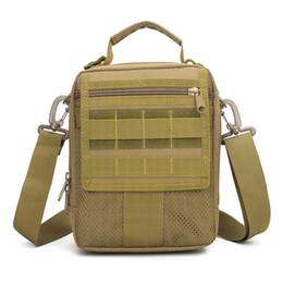 Bag tactical cordura online shopping - Outdoor Sports Men s Tactical Handy Bags CORDURA Material YKK Zipper Single Shoulder Bags For Hiking Camping