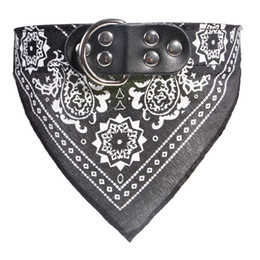 Small Scarf necklace online shopping - Small Dog Scarf sizes colors Adjustable Pet Cat Triangle collars Scarf Neckerchief Necklace Dog Apparel