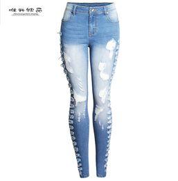 $enCountryForm.capitalKeyWord NZ - 012 top sale fashion women jeans autumn winter ripped ladies jeans pants skinny fit legging pencil