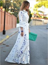 $enCountryForm.capitalKeyWord Canada - Womens clothing ladies print vintage shirt maxi long casual Dress Formal Prom Cocktail Ball Evening Party dress plus big size Dress 51061