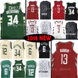 Top quality 34 Giannis Antetokounmpo 13 James Harden 3 Chris Paul Jersey1 6  Eric Bledsoe 12 Jabari Parker The City Basketball Jerseys 40f538197