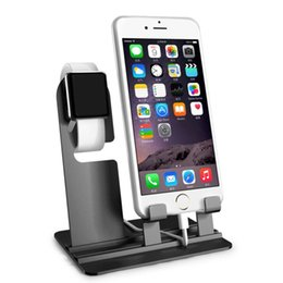Halter-Ladegerät 3 2 1 42mm / 38mm Apple-Handy iPhone 8 X 8Plus Samsung S8 S8 + Ladestation Station Stand