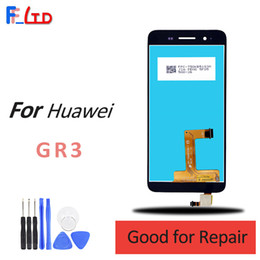 touch screen panel price Australia - OEM for Huawei GR3 LCD Display and Touch Digitizer Screen Replacement Wholesale Price 100% Tested Free Shipping