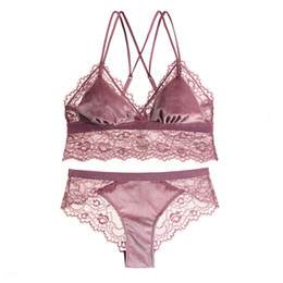 Bra & Brief Sets Women Sexy Floral Lace Padded Lingerie Push Up Bra Sets Panties Bra S72 Cool In Summer And Warm In Winter Women's Intimates