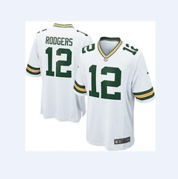12 Aaron Rodgers Jersey Packers Green Bay Jimmy Graham Bart Starr Team  Color american football jerseys women men youth kids free shipping a359c9092