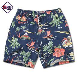 d395c6637dc3 QIKERBONG Men s Beach Shorts Board Boxer Trunks Shorts Quick Drying Boardshorts  Fashion Men Sweatpants