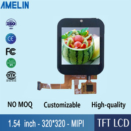 $enCountryForm.capitalKeyWord Australia - 1.54 inch 320*320 tft lcd module touch screen with IPS viewing angle Display for smart watch