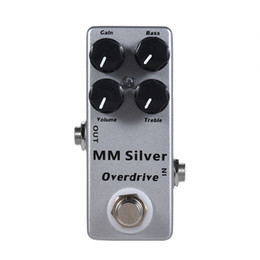 $enCountryForm.capitalKeyWord UK - MOSKY MM Overdrive Guitar Effect Pedal Analog Signal Path True bypass Guitar Accessories