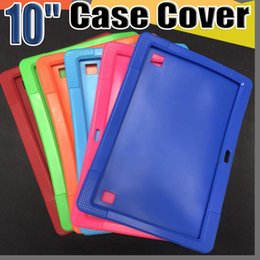 Case tablet Child online shopping - Cheapest Anti Dust Kids Child Soft Silicone Rubber Gel Case Cover For quot Inch A83T A33 A31S Android Tablet pc MID Free DHL