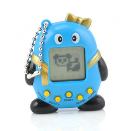 Wholesale 1 Cute Funny Penguins Virtual Digital Pet Electronic Game Machine