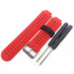 $enCountryForm.capitalKeyWord UK - Hybrids Color Silicone Replacement Wrist Band Strap Wristband for Garmin Forerunner 220 230 235 620 630 Bracelet 10pcs lot