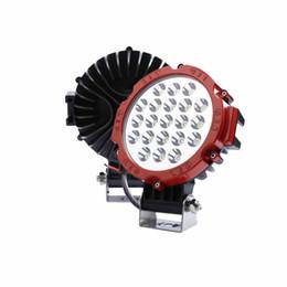 Venta al por mayor de 2X 63W LED LUZ DE TRABAJO 4600lm SPOT LAMP 12V 24V Barco ATV Bike SHIP Barco SUV 4X4