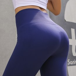 179d9fe03801d New Women Yoga Pants High Waist Sports Leggings Elastic Fitness Gym Running  Pants Lift The Hips Body-building Tight Hot Trousers
