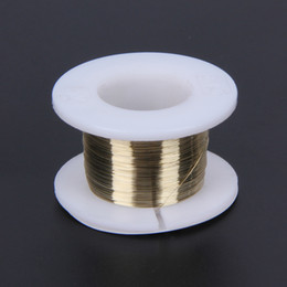 100M LCD Cutting Wire 0.10mm Gold Molybdenum Cutting Wire Line Splitter LCD Glass Cutting Line for Cell Phones Screen Separator on Sale