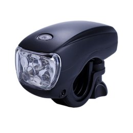 Wholesale Black Color Cycling Bike Bicycle Super Bright LED Front Head Light Lamp For Dropshipping