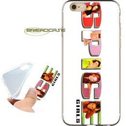 4s cases girl online shopping - Capa Spice Girls Logo Shell Cases for iPhone X S Plus S SE C S iPod Touch Clear Soft TPU Silicone Cover