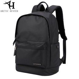 92109556a7a4 ARCTIC HUNTER Fashion Backpacks waterproof Back pack Men Bag Black Casual  Travel Backpack Male School Backpack Gift