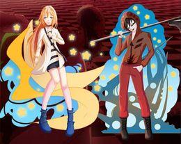 Angels Figures Australia - Anime Satsuriku no Tenshi Angels of Death Acrylic Stand Figure Cosplay Keychain Halloween Cartoon Cosplay Keychain Key ring Stand Figure